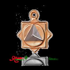 Золотой кулон Virtu бренда Матрица Здоровья